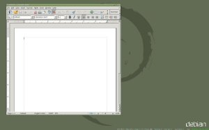 LibreOffice in AMD64 Debian