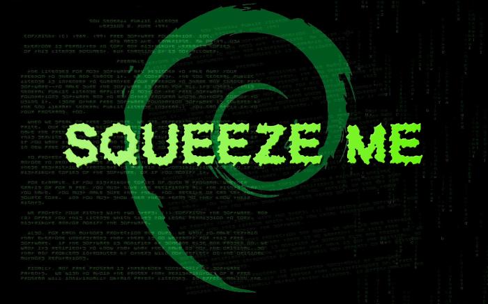 squeeze me debian GPL matrix